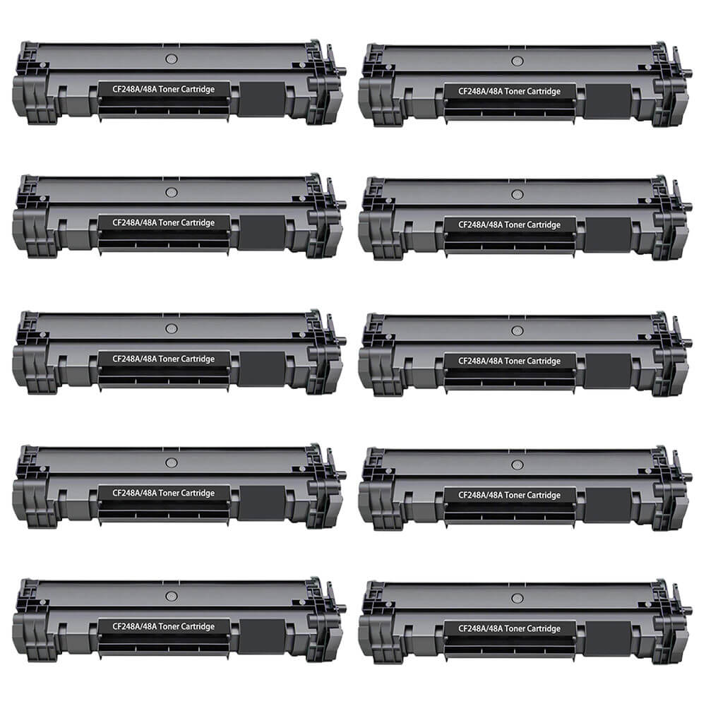 HP 48A / CF248A (10-pack) Replacement Black Laser Toner Cartridges