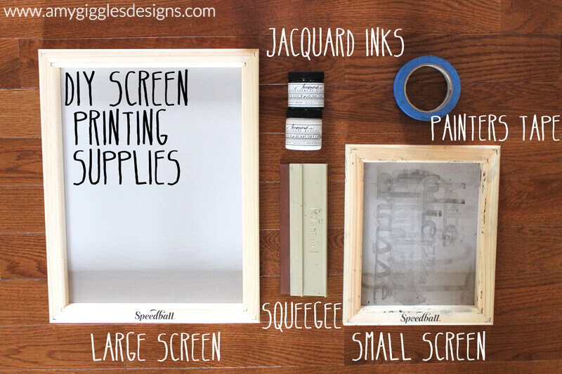 How To Make Diy Screenprinted 28 Images Adventures In