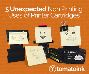 printer cartridge upcycling