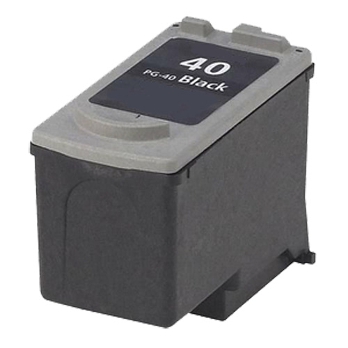 Canon pg-40 replacement black ink cartridge (0615b002)